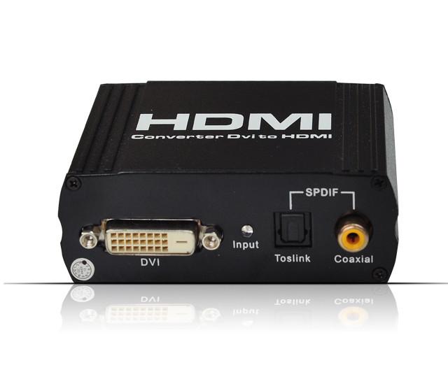 DVI+SPDIF to HDMI Converter