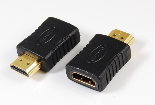HDMI male to HDMI female adaptor