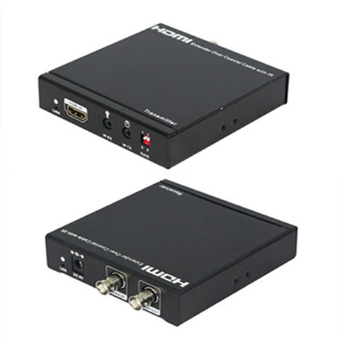 100m HDMI Extender Over Dual Coaxial Cables with IR