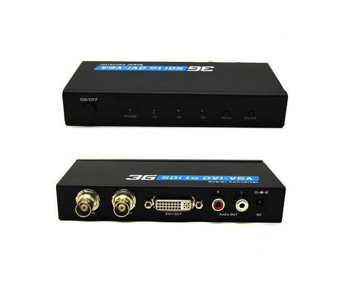 SDI to DVI-VGA Scaler Extender converter