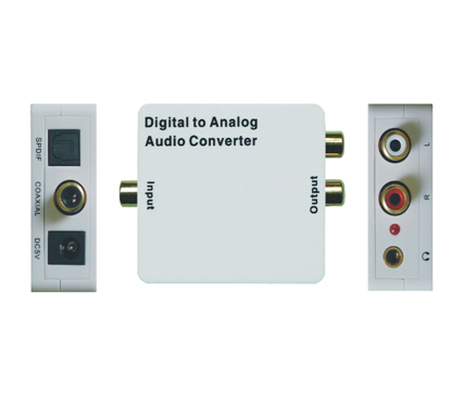 Digital  To Analog (with 3.5) Audio Converter