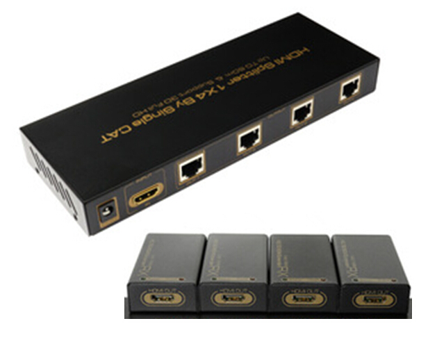 HDMI Splitter Extender 1 to 4