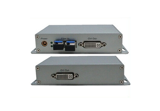 20km DVI Fiber Optic Audio / Video Extender (SC)