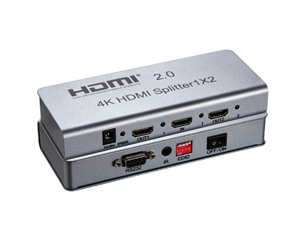 1x2 HDMI Splitter (4K*2K) with IR